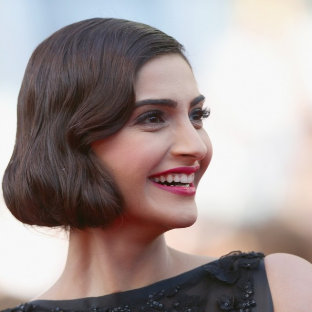 "CANNES, FRANCE - MAY 18:  Sonam Kapoor attends ""The Homesman"" premiere during the 67th Annual Cannes Film Festival on May 18, 2014 in Cannes, France.  (Photo by Vittorio Zunino Celotto/Getty Images)"