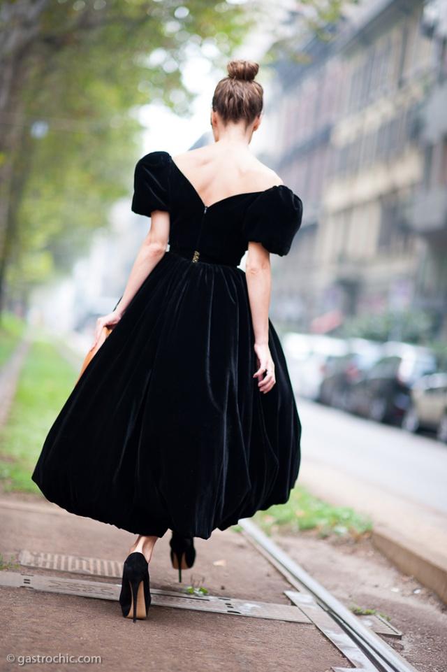 Ulyana Serkeenko at Dolce & Gabbana